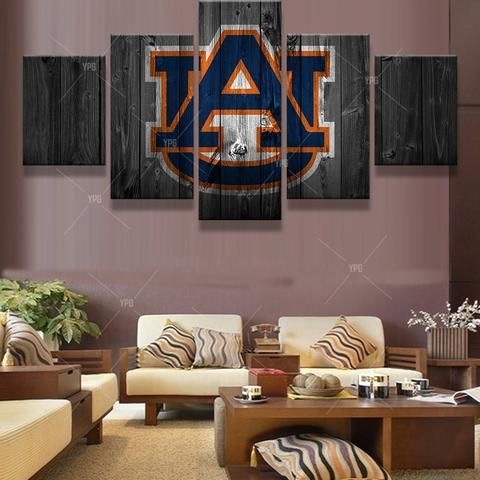 auburn ncaa football panel canvas wall art home decor canvas