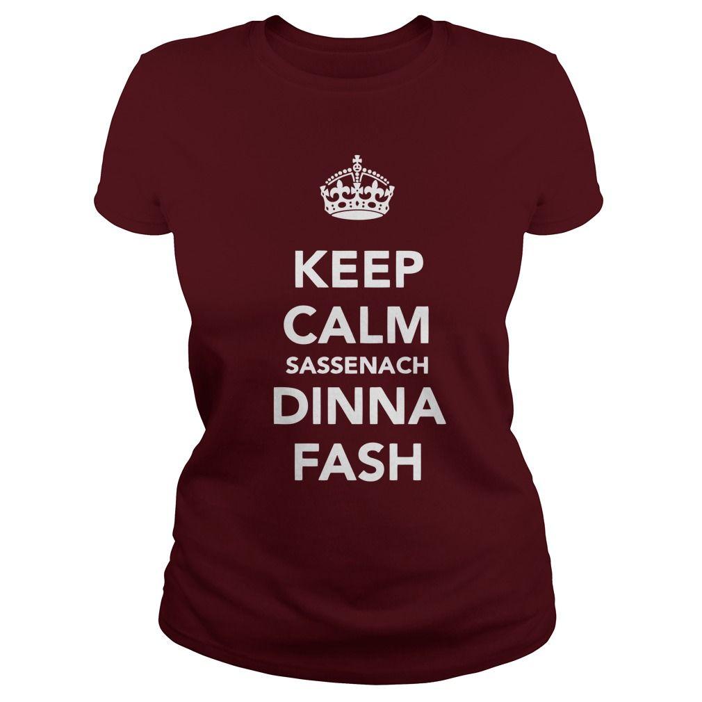 Outlander - Keep calm sassenach dinna fash