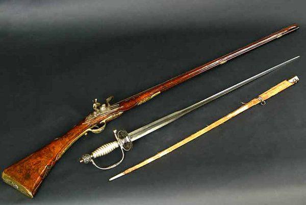 A fine Italian early 18th century Flintlock fowling piece