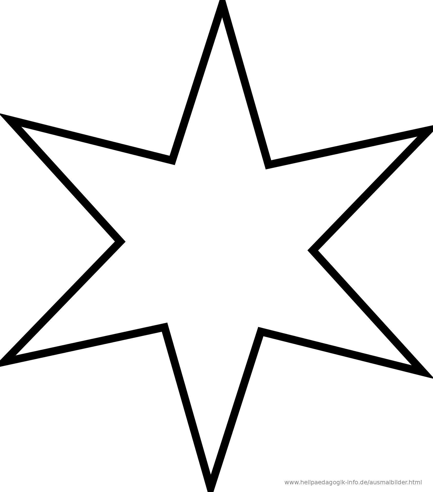 Pin Von Sarah Auf Malvorlagen Sterne Zum Ausdrucken Vorlage Stern Malvorlage Stern