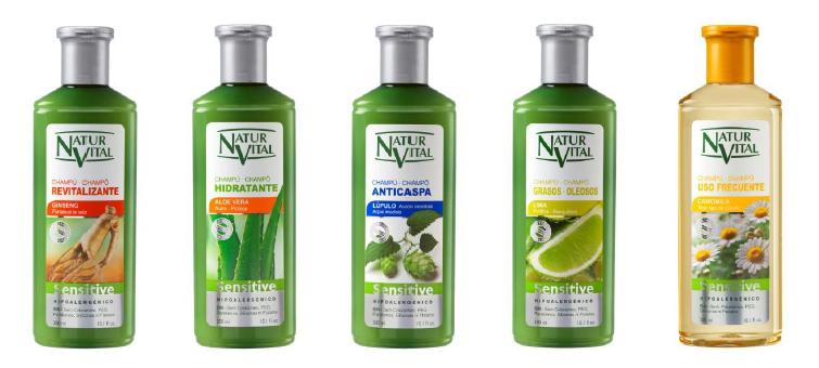 Champús Sensitive De Naturvital Te Gustarán Y Te Gustarás Shampoo Para Cabello Graso Suavizar El Cabello Hidratar El Cabello