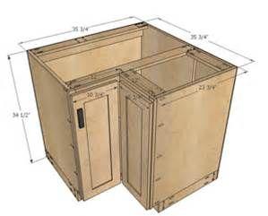 Kitchen Corner Cabinet Dimensions   Bing Images
