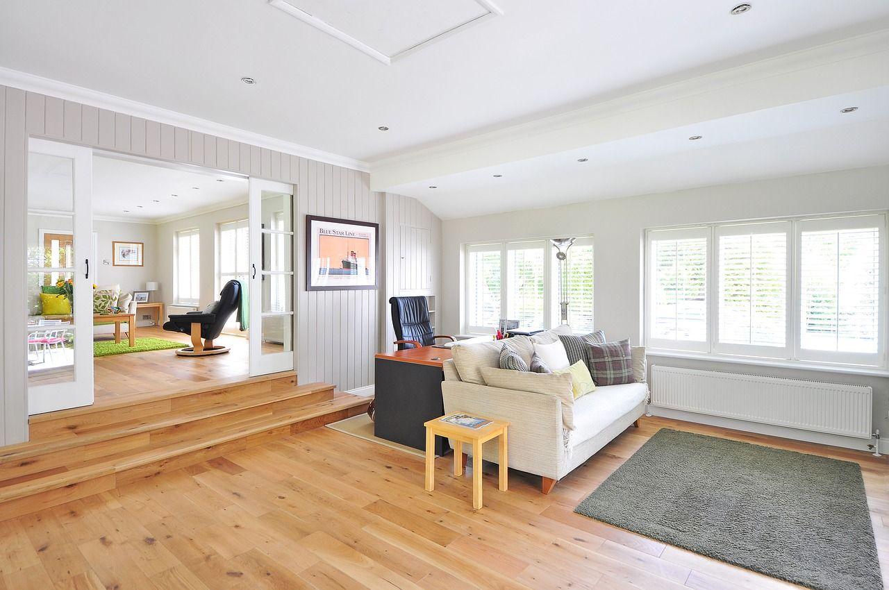 piso-madera-living | Salon | Pinterest | Flooring companies ...