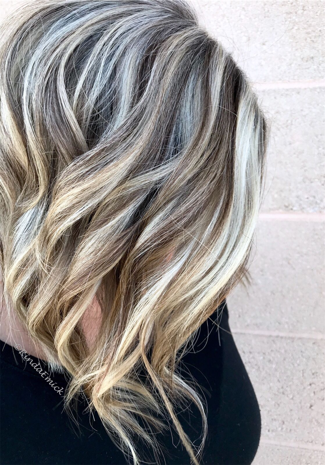 Create A Softer Grow Out Embrace The Natural Grey Ashy Blonde