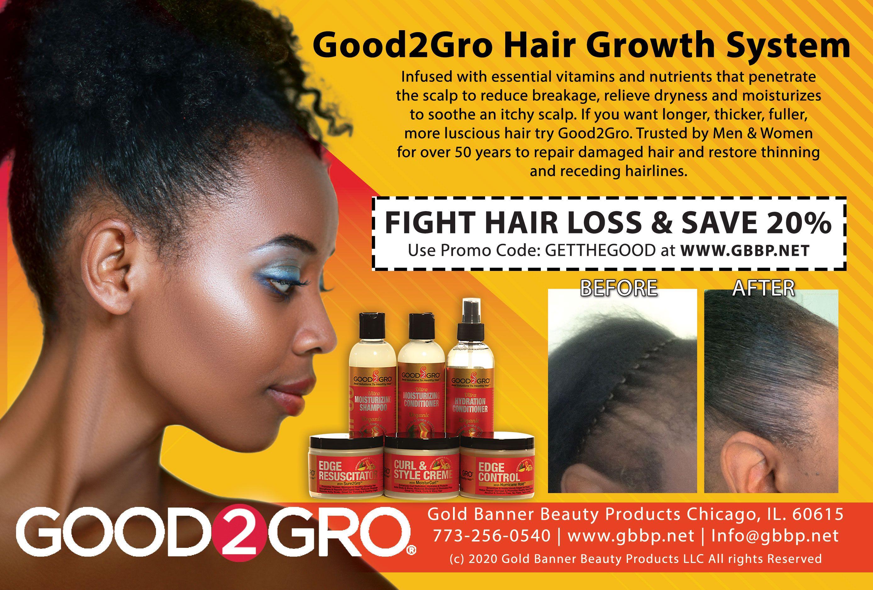 Good2gro Hair Growth System In 2020 Hair Growth System Healthy Hair Growth Damaged Hair Repair