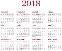 2018 Calendar Transparent Png Clip Art Clip Art Free Clip Art Calendar Png