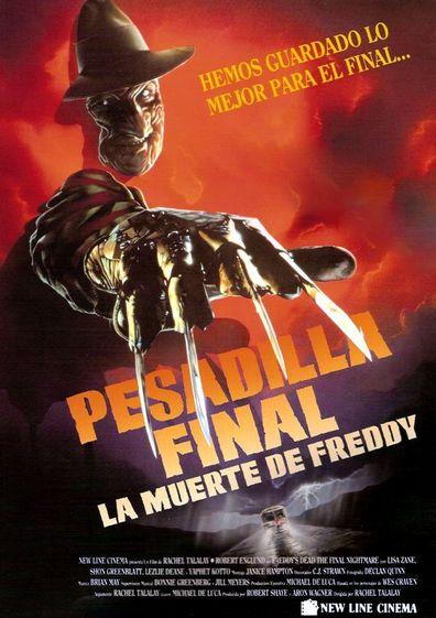Pesadilla En Elm Street 6 Pesadilla Final La Muerte De Freddy 1991 Pesadilla En Elm Street Pesadillas Peliculas En Netflix