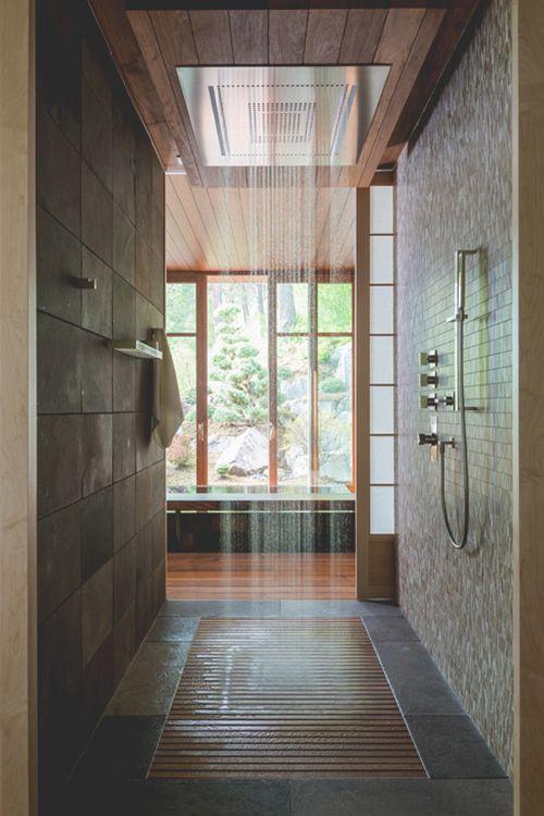 Douche Italienne Plain Pied douche italienne : 33 photos de douches ouvertes | bathroom bliss