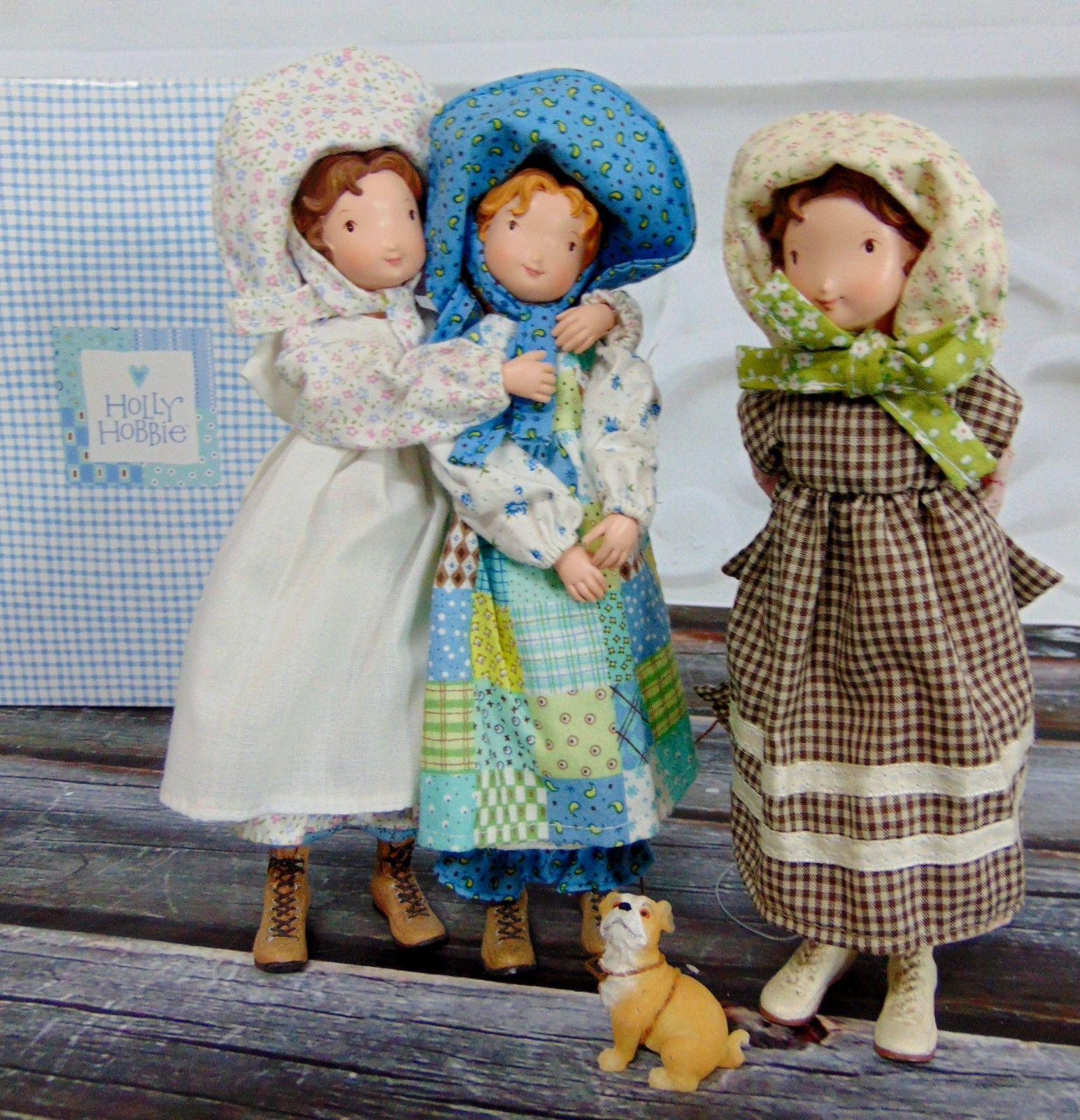 New set 3 holly hobbie carrie amy cloth resin figurine dolls new set 3 holly hobbie carrie amy cloth resin figurine dolls american greeting ebay reviewsmspy