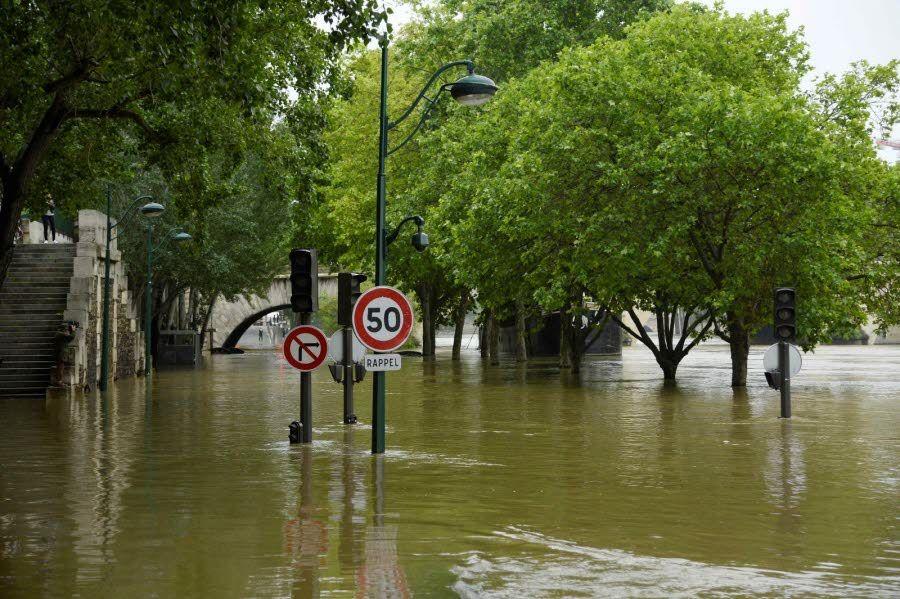 La capitale sous les eaux. Photo AFP