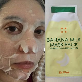 40 Something Millennial Sheet Mask Review Banana Milk Mask Pack
