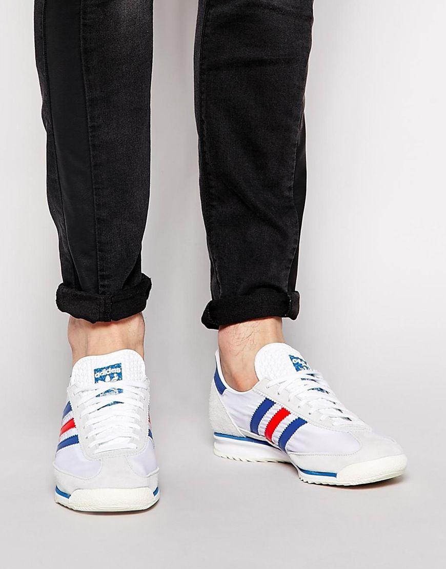 Homme Sl Pour Chaussures Baskets 72 Adidas Originals pUSqVzM