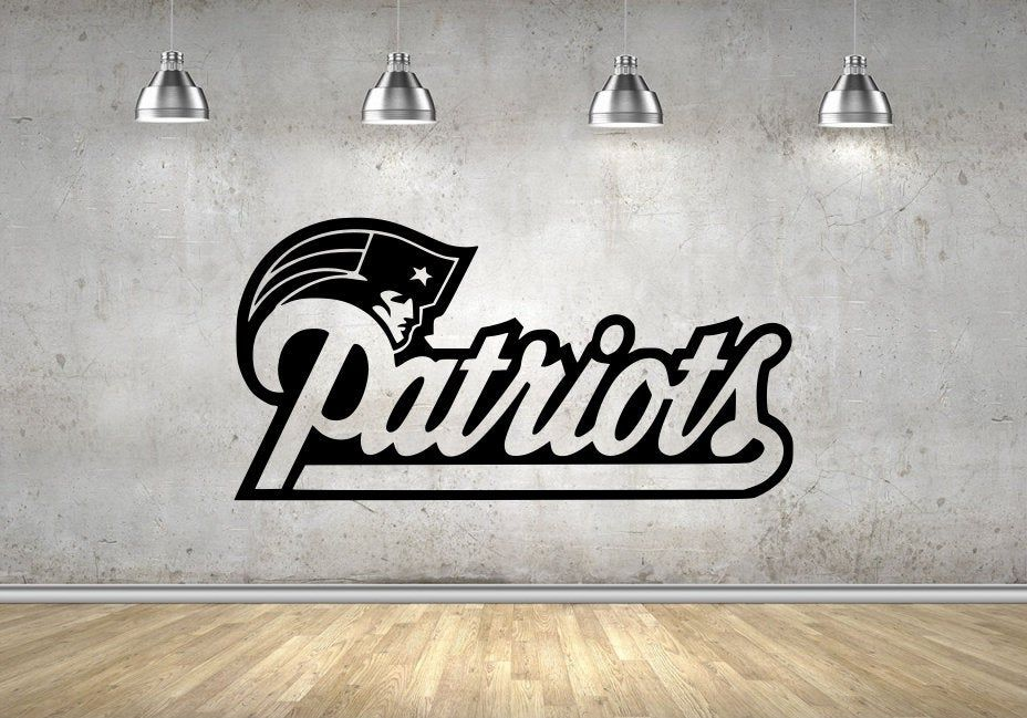 New England Patriots league team logo Wall Art Sticker