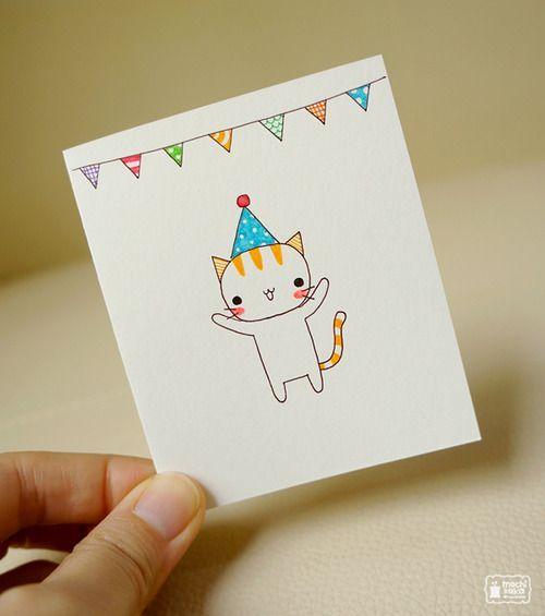 одна немногих самодельная открытка на день рождения рисунок новый