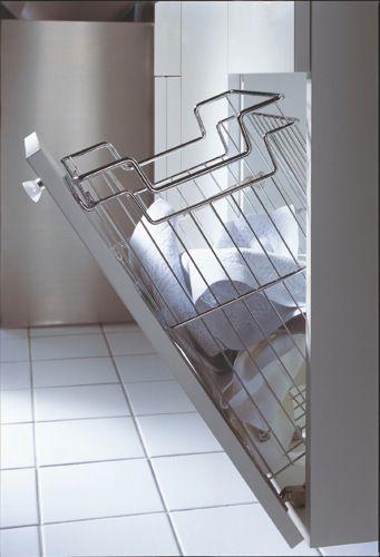 armoire salle de bain avec panier a linge - Recherche Google - meuble salle de bain panier a linge