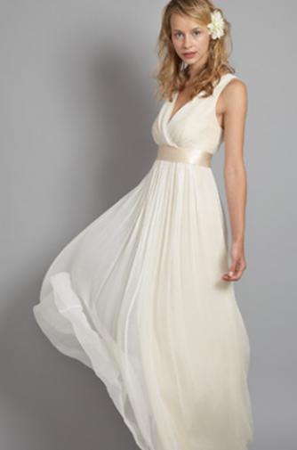 Saja Wedding Sash And Bustle Simple Wedding Dress Casual Casual Wedding Dress Wedding Dresses