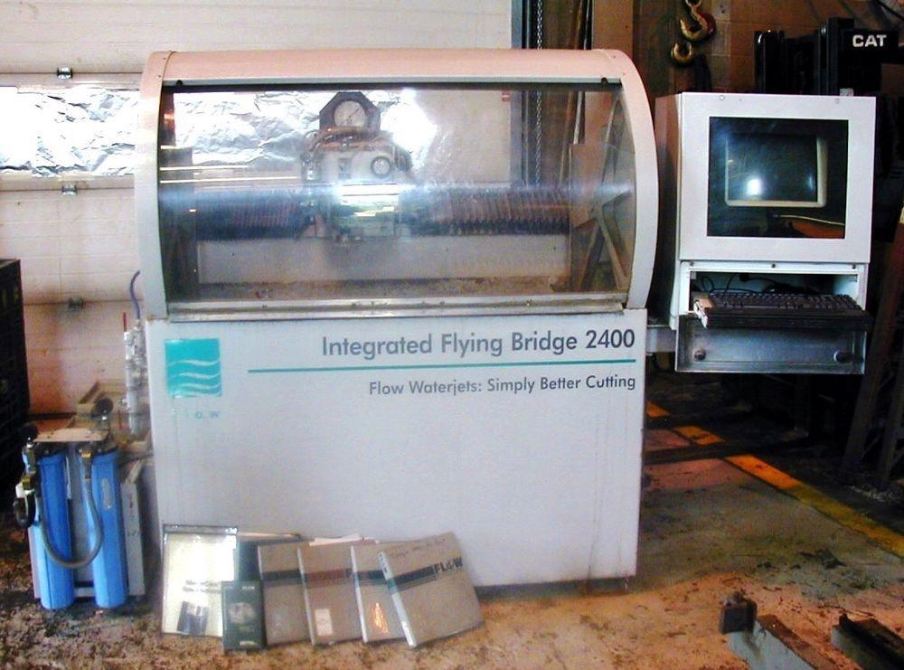 2002 FLOW BENGAL WATER JET / 2nd New Intensifier Pump