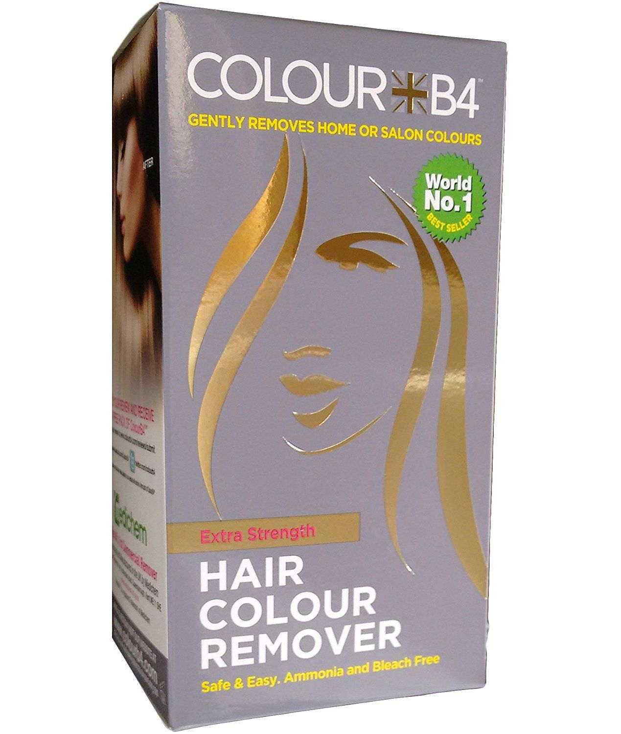 Colour B4 Hair Colour Remover Extra Strength More Details Can Be