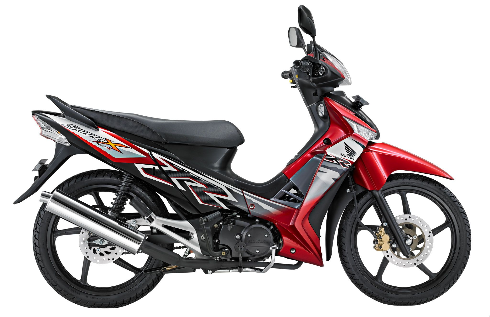 Supra x 125 cw the most populat motorcycle on indonesia