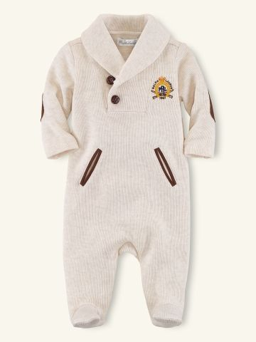 9d0efd36c149 Shawl-Collar Coverall - Layette One-Pieces   Sets - RalphLauren.com ...