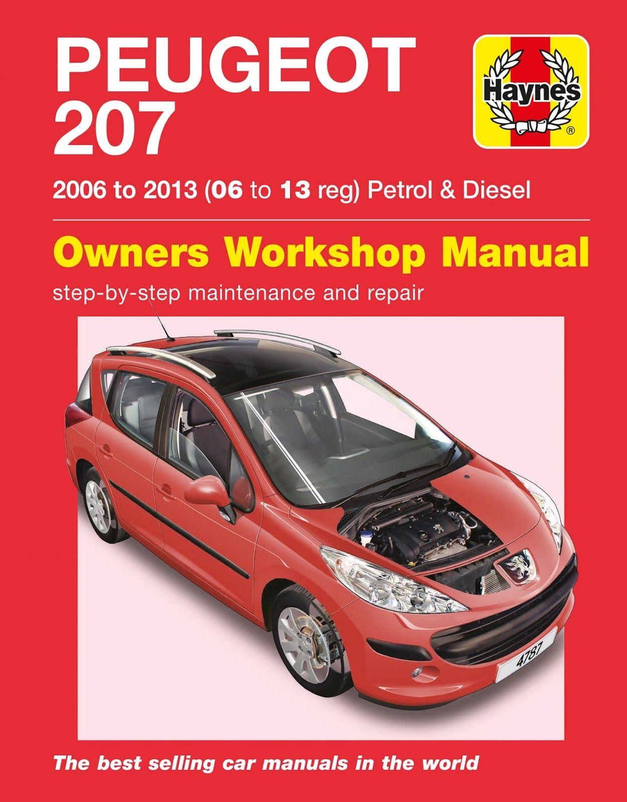 Peugeot 207 Repair Service Manual