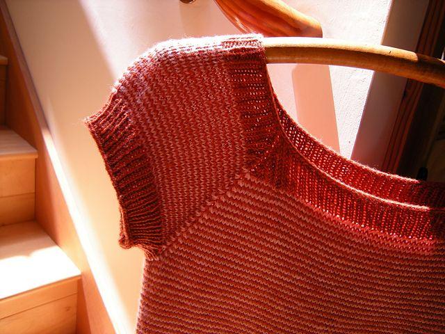 Ravelry: Pin-Striped Sweater Tee pattern by Jenjoyce Design