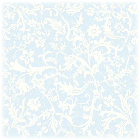 free floral white and blue vintage wedding scrapbook paper