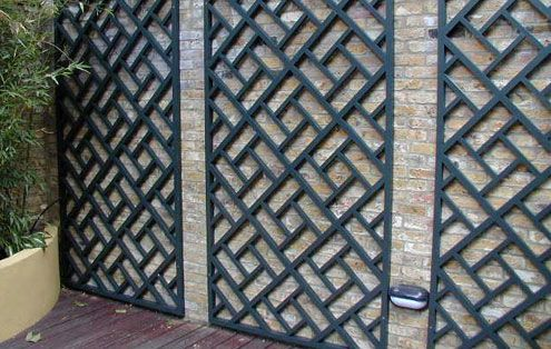 Contemporary Trellis Panels Wooden Fence Trellis Panels Essex