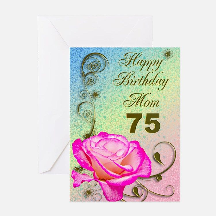 Birthday Card Karenza Paperie 75th Cards Quotes Wishes Messages And Images