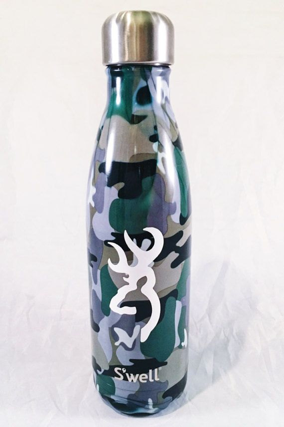 Camo S Well Bottle Male Father S Day Hunter By Paperandpi