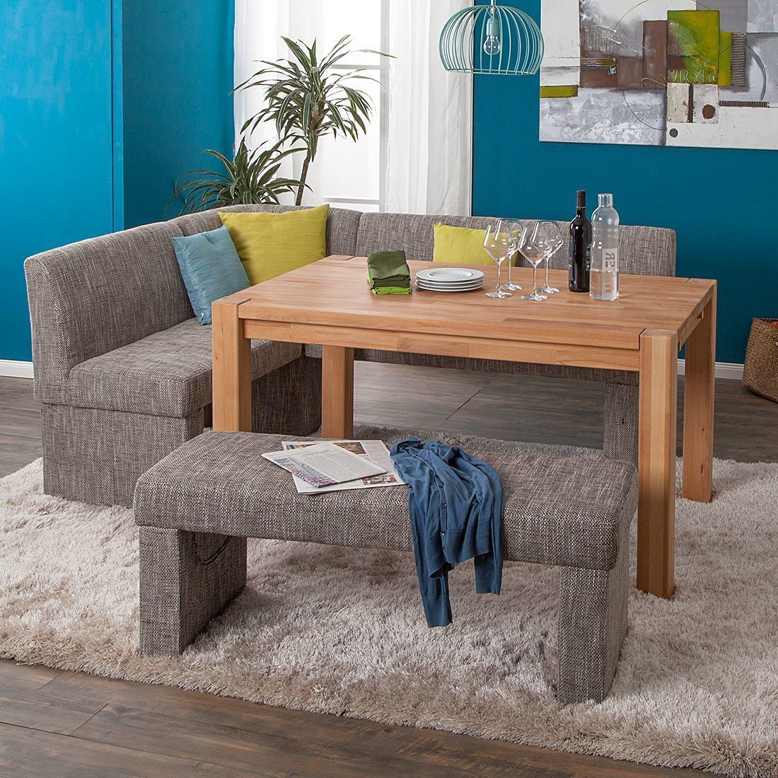 Eckbank Stoff Modern Deutsche Pinterest Furniture Table And