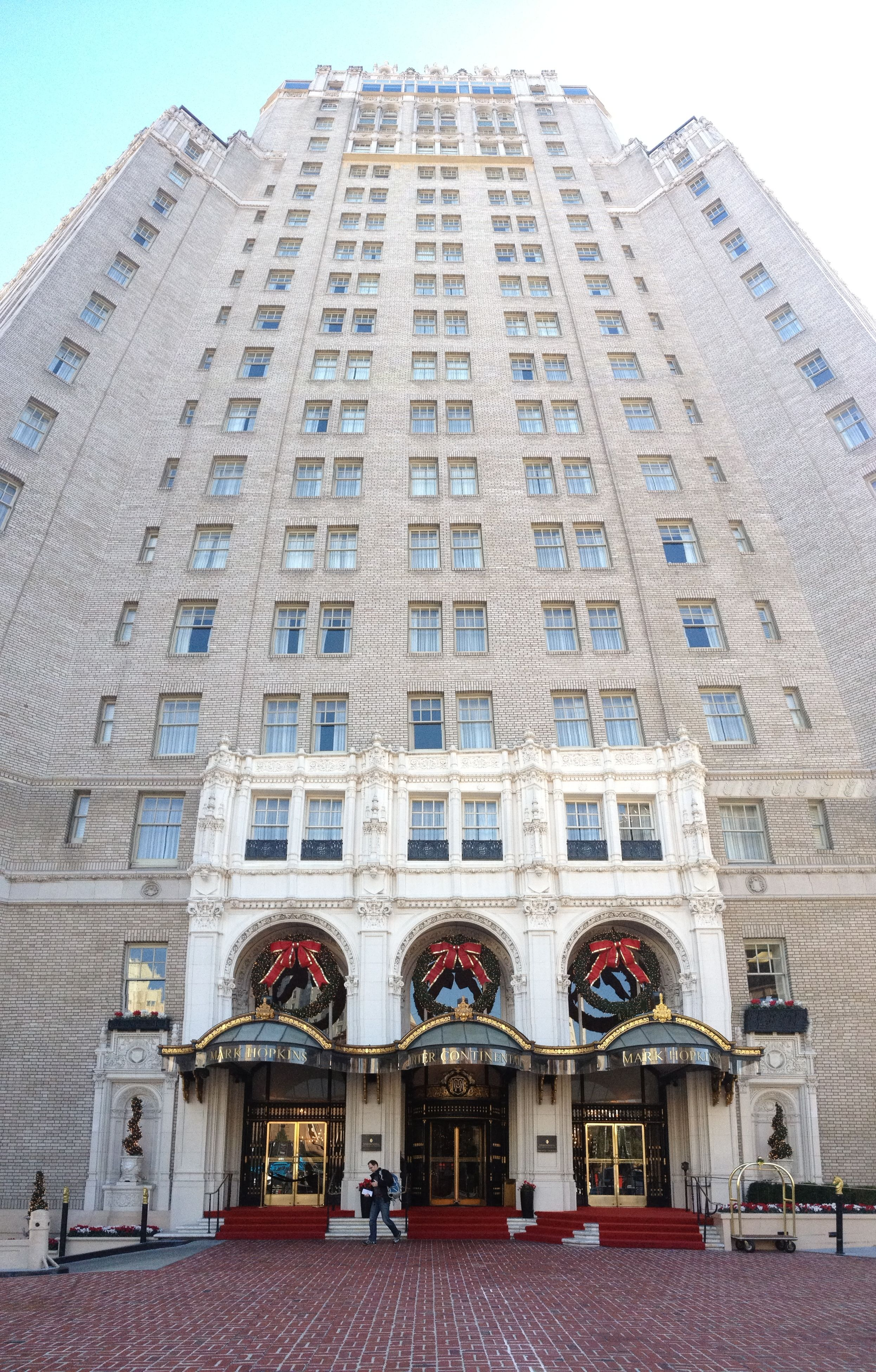 Mark Hopkins Hotel San Francisco Ca- Years 2013 2014