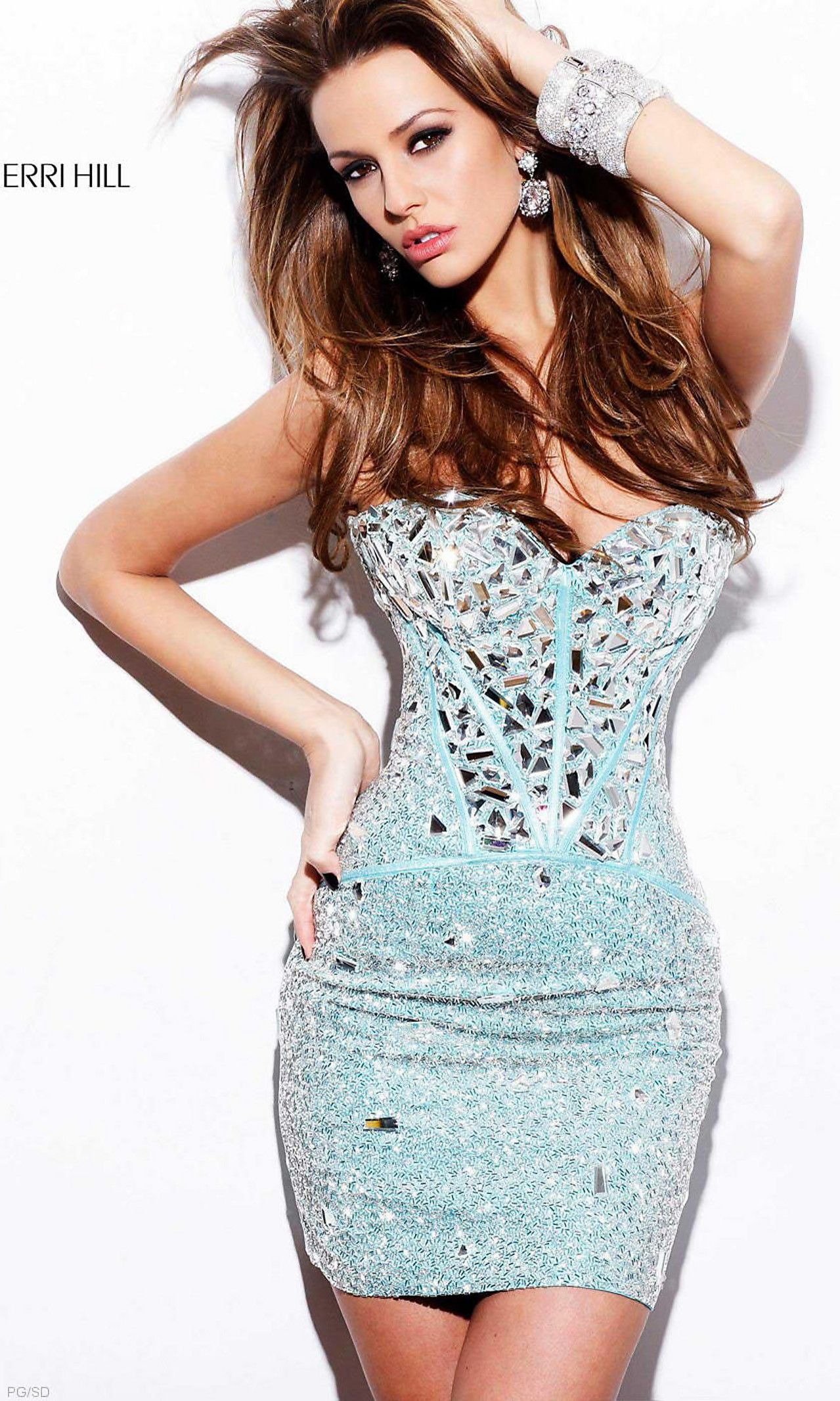 Strapless Sweetheart Beaded Corset Dress | Style | Pinterest ...