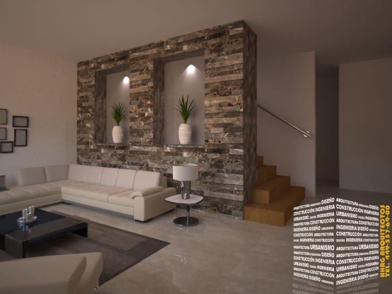 Para tu sala 15 ideas para revestir las paredes con for Revestir paredes interiores