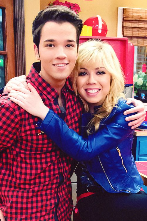 Jennette Mccurdy And Nathan Kress: Sam Puckett And Freddie Benson (iCarly).