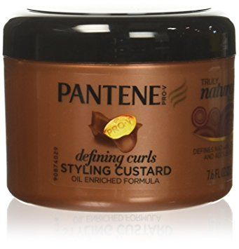 Pantene Pro V Truly Natural Hair Defining Curls Styling Custard 7 6 Fl Oz Pack Of 3 Packaging May Vary Pantene Defined Curls Natural Hair Styles