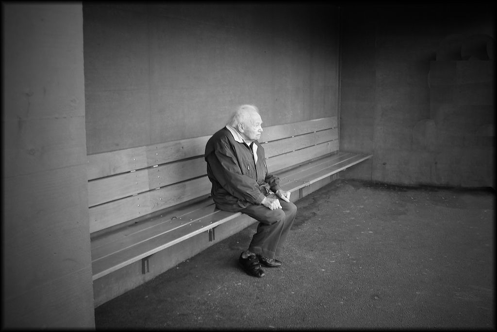 lonely old man | Old men, Best friends funny, Trendy quotes