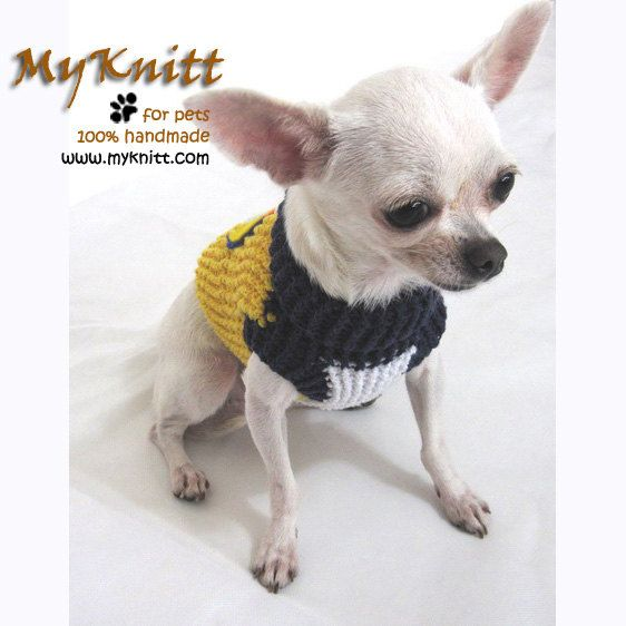 4d5304f8699 West Coast Eagles Dog Costume Cat Clothing Pets by myknitt on Etsy #AFL # westcoasteagles #football #soccer #crochet #knit #Australia