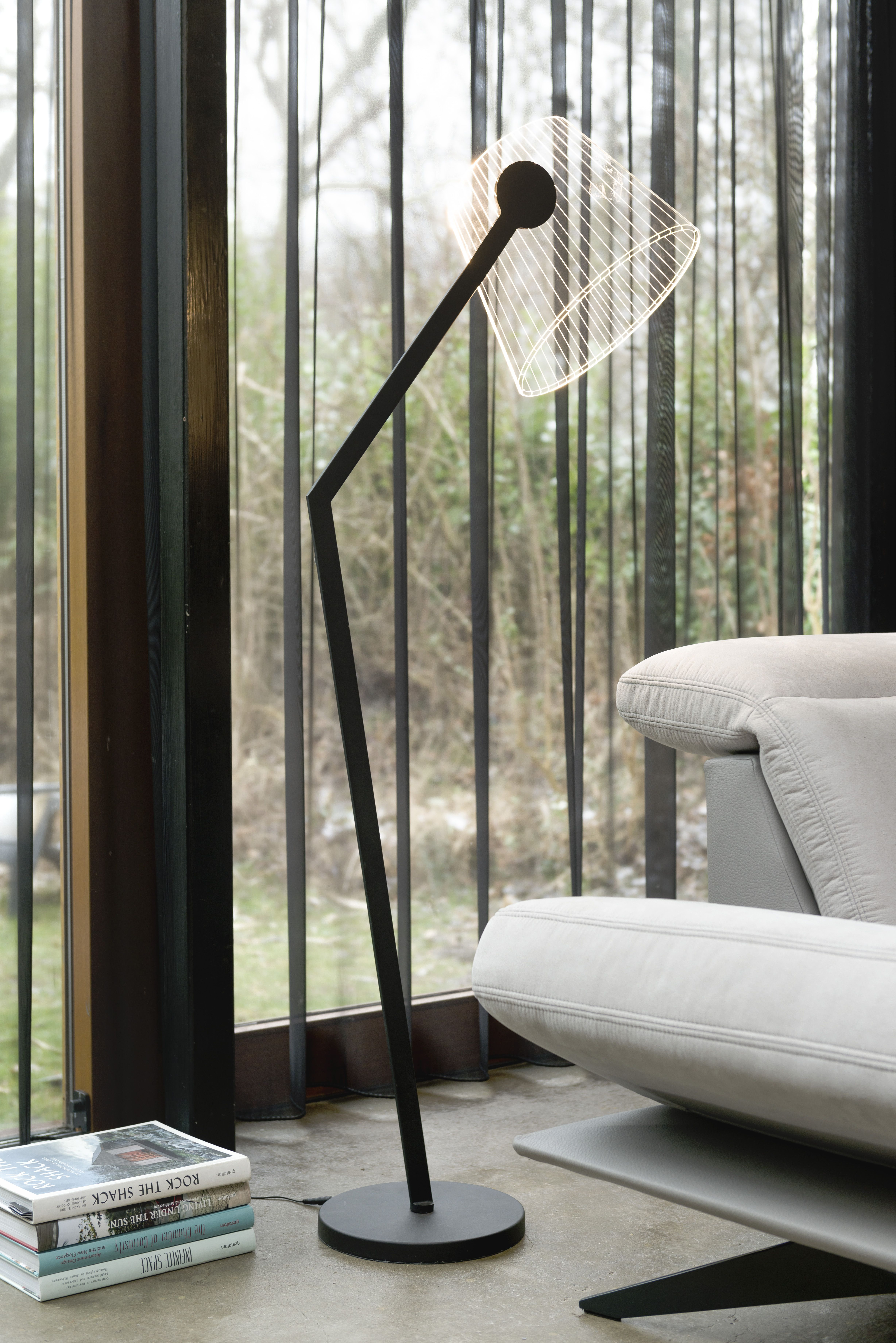Floor lamp neyo from coco maison is very usefull light for reading floor lamp neyo from coco maison is very usefull light for reading with its integrated led aloadofball Choice Image