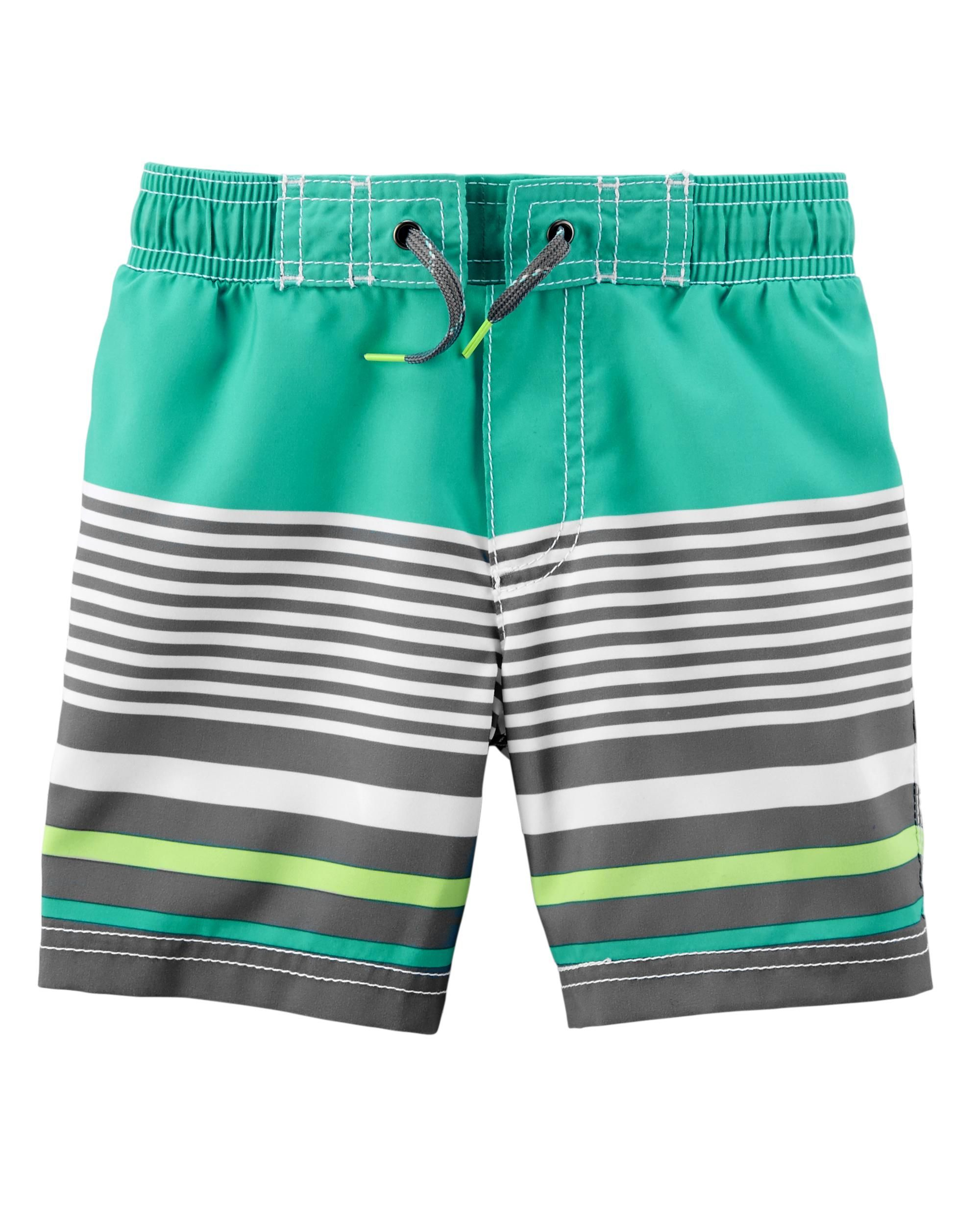 3d2482b0c3 Baby Boy Carter's Striped Swim Trunks | Carters.com