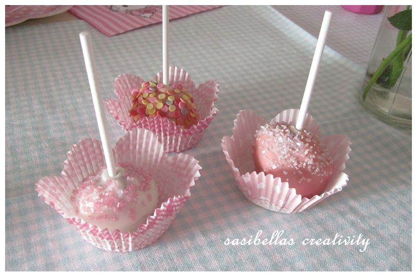 Sonntagssüß - Schoko Cake Pops ~ SASIBELLA