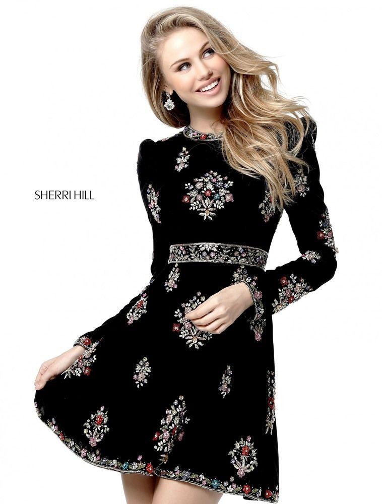 SHERRI HILL 51342 | Fall 2017 Collection | Pinterest | Kleider lang ...