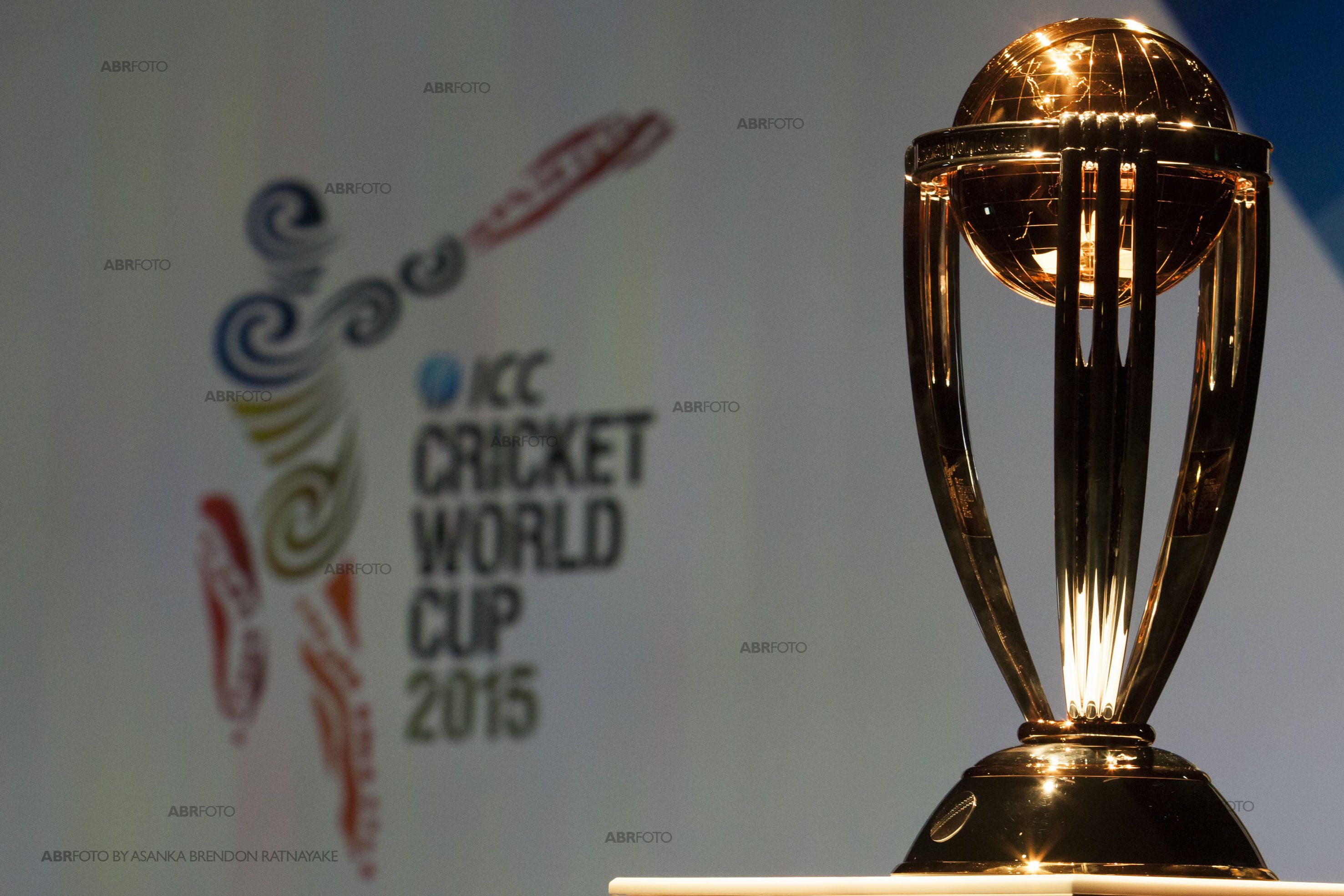 Cricket world cup trophy 2015