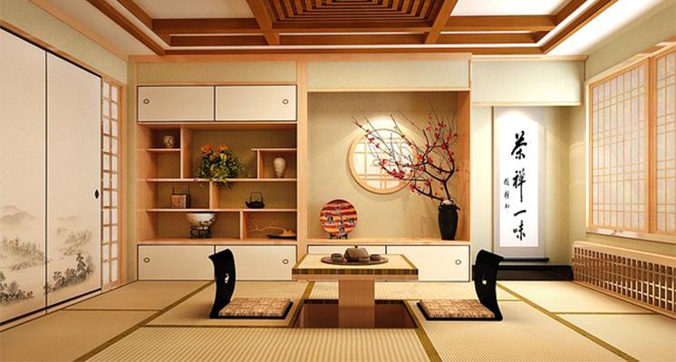 Pin By Kati Lea On Robosamurai Scene Moodboard Japanese Bedroom Decor Japanese Living Rooms Japanese Style Bedroom