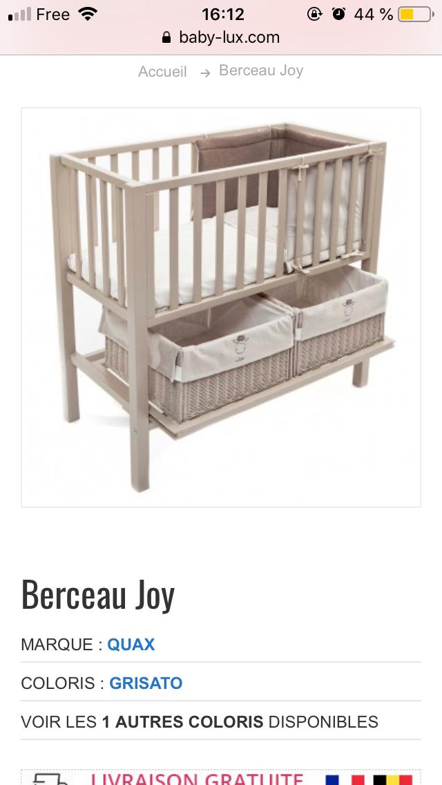 Baby Lux Belgique Baby Lux Luxe Berceau