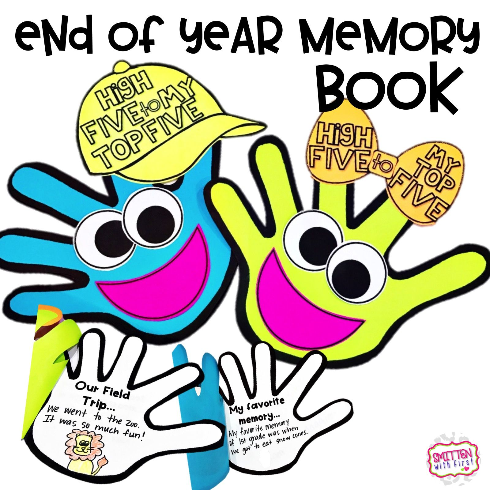 End Of Year Activity Memory Book
