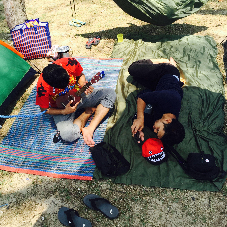 Beach Blanket Tempest Musical: Outdoor Beach Camping, Pantai Sepat, Kuantan, Pahang