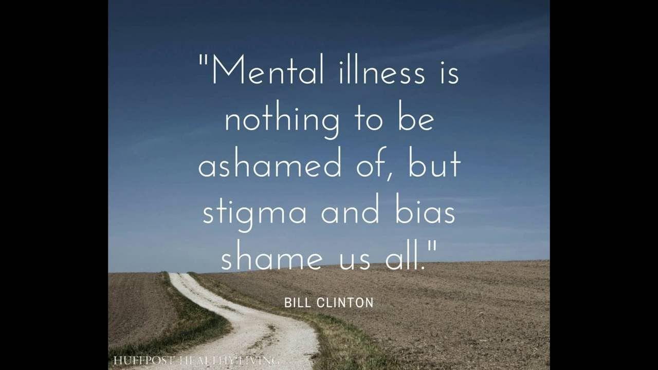 stand up against mental health stigmas