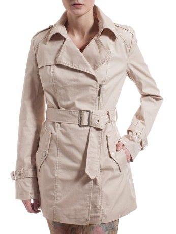Trench coat in Cotton   Motivi  fb9aafac2cba