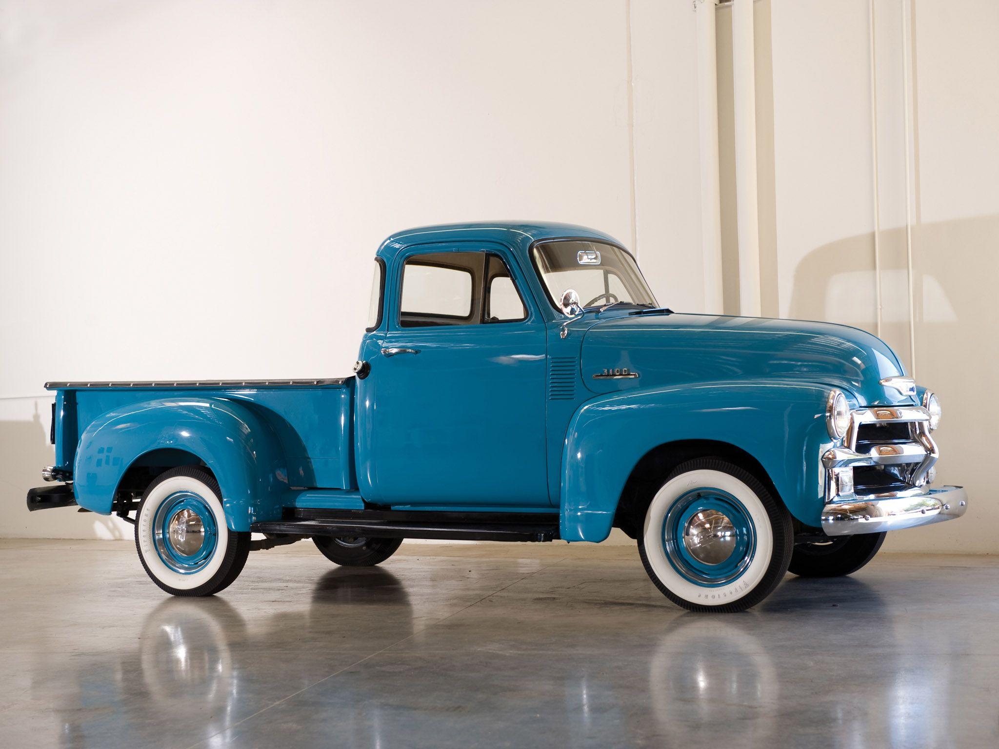 1954 Chevrolet 3100 Pickup Truck Retro G Wallpaper 2048x1536 105330 Wallpaperup Chevy Trucks Classic Cars Trucks Classic Pickup Trucks